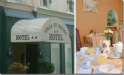 Гостиница с двумя звёздами